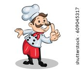 chef cook | Shutterstock .eps vector #609045317