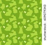 seamless vector pattern of... | Shutterstock .eps vector #609079343