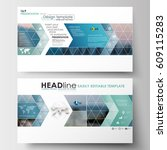business templates in hd format ... | Shutterstock .eps vector #609115283