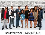 Small photo of LOS ANGELES - SEP 12: Jersey Shore Cast arrives at the 2010 VMA Awards at Nokai LA LIve on September 12, 2010 in Los Angeles, CA