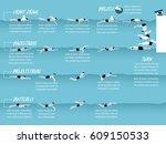 illustration vector info... | Shutterstock .eps vector #609150533