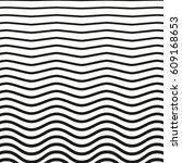 black and white striped lines.... | Shutterstock .eps vector #609168653