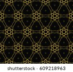 abstract repeat backdrop.... | Shutterstock .eps vector #609218963