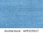 silk fabric blue wallpaper... | Shutterstock . vector #609225017