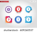 colored icon or button of... | Shutterstock .eps vector #609260537