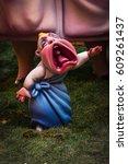 valencia  spain   march 19 ... | Shutterstock . vector #609261437