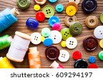 tailoring. the process of... | Shutterstock . vector #609294197