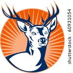 vector  illustration of a stag... | Shutterstock .eps vector #60931054