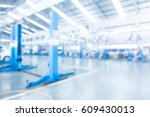 abstract blur garage and... | Shutterstock . vector #609430013