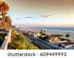 view of pacific coast highway... | Shutterstock . vector #609449993