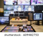 blurred picture video switch of ... | Shutterstock . vector #609482753