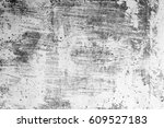 metal texture with scratches... | Shutterstock . vector #609527183