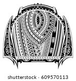 maori style tattoo. good for...