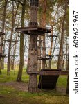 Small photo of CLIMBING TREE: adventure playground in the trees.