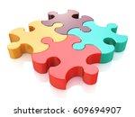 creative business  office ...   Shutterstock . vector #609694907