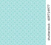 vector geometric seamless... | Shutterstock .eps vector #609714977