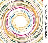 spiral element  spiral pattern. ...   Shutterstock .eps vector #609746693