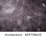 gray concrete background. top... | Shutterstock . vector #609758633