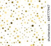 star pattern. white  background ... | Shutterstock .eps vector #609777947