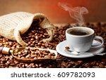coffee | Shutterstock . vector #609782093