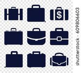 brief icons set. set of 9 brief ...   Shutterstock .eps vector #609806603