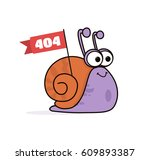 animated cartoon funny smiling...   Shutterstock .eps vector #609893387