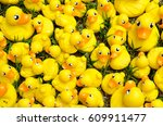 Many Bright Yellow Rubber Duck...