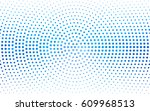 light blue vector pattern with... | Shutterstock .eps vector #609968513