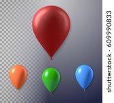 illustration of photorealistic... | Shutterstock .eps vector #609990833