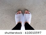 closeup photo of from woman... | Shutterstock . vector #610010597