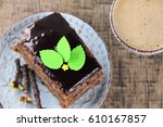 Small photo of Delicious cake with the addition of bird-cherry tree powder