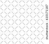 geometric dotted vector black... | Shutterstock .eps vector #610171187
