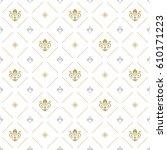 seamless vector pattern. modern ... | Shutterstock .eps vector #610171223