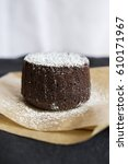 Small photo of Chocolate Fondant Cake