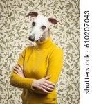 Anthropomorphic Dog Portrait....