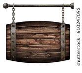 Wooden Barrel Medieval...