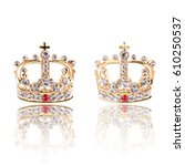crown jewel isolated on white