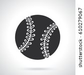 vector illustration. silhouette ...   Shutterstock .eps vector #610279067