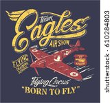 Team Eagles Air Show  Artwork...