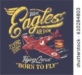 Team Eagles Air Show  Artwork...