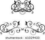 vector design element | Shutterstock .eps vector #61029433