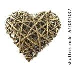 Wooden Heart Shaped Figure On ...