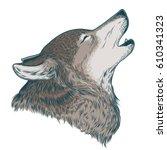 vector illustration of a... | Shutterstock .eps vector #610341323