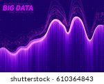 vector abstract big data... | Shutterstock .eps vector #610364843