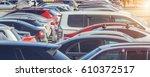 parking cars | Shutterstock . vector #610372517
