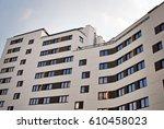 modern  luxury apartment...   Shutterstock . vector #610458023