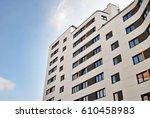 modern  luxury apartment... | Shutterstock . vector #610458983