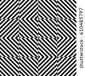 vector seamless pattern.... | Shutterstock .eps vector #610485797