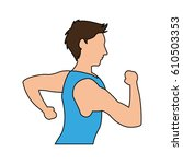 sport or health icon image    Shutterstock .eps vector #610503353