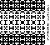 vector seamless pattern.... | Shutterstock .eps vector #610531073